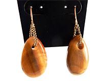 Se mere om Brune øreringe fra Sence Copenhagen i web-butikken
