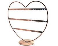 Se mere om Smykkestativ udformet som hjerte i kobber i web-butikken