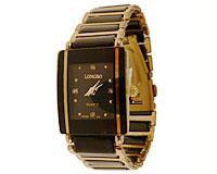Se mere om LONGBO smykkeur i sort farve med guldfarve i web-butikken