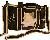 Se mere om Sort Kokocat håndtaske og skuldertaske med en Kokocat der spiller guitar i web-butikken