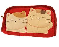 Se mere om Stor pung fra japanske Kokocat i rød farve i web-butikken