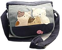 Se mere om Kokocat modetaske i blå farver i web-butikken