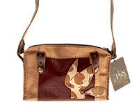 Se mere om PSN hånd og skuldertaske i brune farver med kat i web-butikken