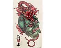 Stor kranie tatovering (GG005)