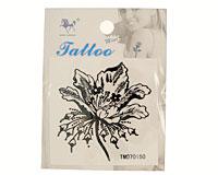 Se mere om Tatovering af sød sort blomst i web-butikken
