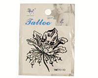 Tatovering med blomst (TS048)