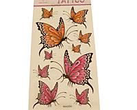Se mere om Tatoveringer med sommerfugle i orange og lilla farver i web-butikken