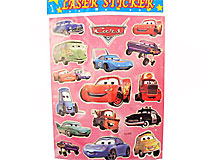 Stickers med CARS (TS069)