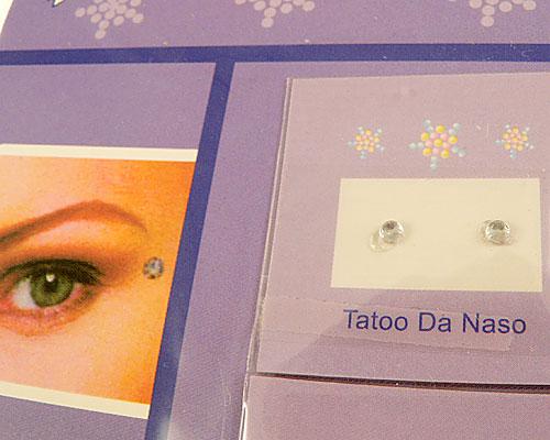 Se mere om tattoo og stickers med sten i klar farve i web-butikken