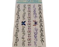 Se mere om Fem store tatoveringer med tribal og sommerfugle i web-butikken