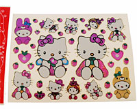 Stickers med Hello Kitty (TS090)