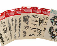Syv forskellige tatoveringer til drenge (TS097)