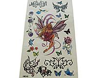 Tattoo med sommerfugle (TS120)