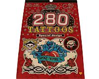 Se mere om Tatoveringer bog med seks forskellige tatoveringer til piger og drenge, børn eller voksne. i web-butikken