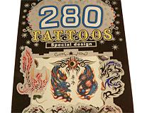 Se mere om Tatoveringer bog med seks forskellige tatoveringer til drenge i web-butikken